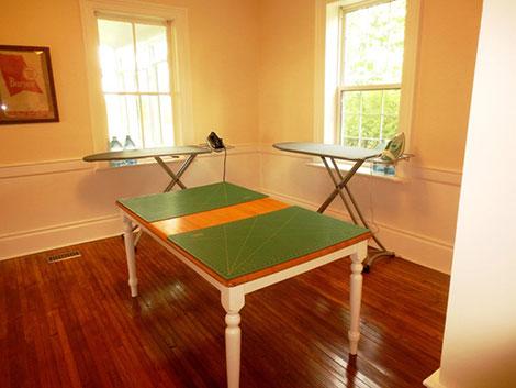 Ironing / Cutting Room